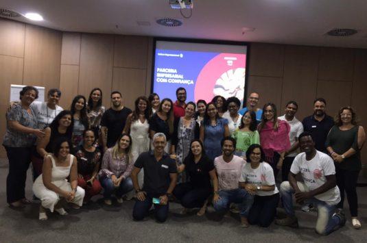Academia de Líderes – ALO, Módulo 1 – Seminário Parceria Empresarial com Confiança.